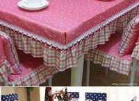 toalhas de mesa em tecido