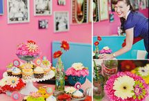 Jen's Bridal Shower / 50s Soda Pop Theme/At the Hop / by Jamie Marie