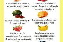 Alimentación / Alimentos sanos y saludables