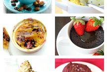 Healthy Mug Cakes
