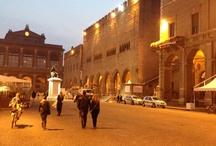 Nella strada di Rimini / Walking