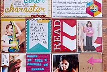paper : project life / Favourite spreads and inspiration for my own Project Life pags!