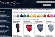 Online Krawatten Shop