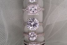The most beautiful engagement rings I have ever seen in my life / will ask him buy me all those rings one day >^^<