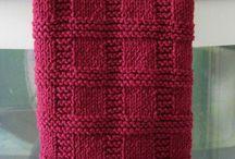 Knitting /Tea towel