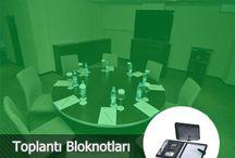 Promotarz Promosyon Toplantı Bloknotları