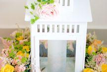 Aranjament floral felinar
