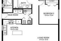 Self catering floor plans