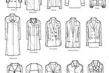 Sketches of clothes