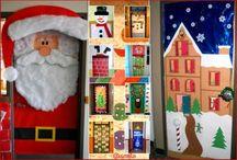 Decoración de Clase en Navidad / Súper colección de Imágenes decoración de clase, aula y salón en Navidad