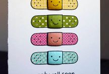 Cards - Get well / by Ellen Rose