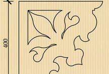 Filigrán - minták