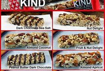 protein bars and granola bars
