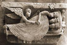 Escultura románica catedral San Lázaro Autun. Francia.
