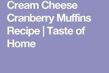 Muffin and Scone Recipes