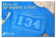 How to Paint Tees