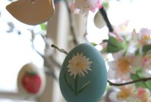 Easter Egg Project / Check out my Egg Blowing and Decoration for my Spring tree.