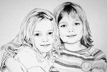Portrait Zeichnung Bleistift