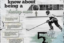 Hockey Layout Ideas / Digital scrapbooking