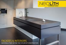 Neolith kitchens / Various Neolith kitchen Projects