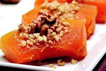 Güneşin turuncu kızı:Balkabağı / Balkabağını tatlının yanı sıra tuzlu yiyeceklerde de kullanmak isteyenler için nefis tarifler...