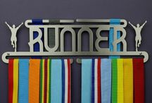 Flying Runner Medal Displays / Our Medal Displays for runners.