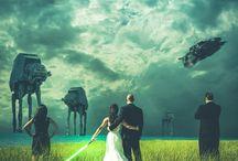 Star Wars wedding / by Hadeel Abdelmageed