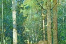 ARBOLES, TRONCOS, HOJAS... / Todo lo que tenga que ver con la estética y los colores de los árboles y de los elementos que los componen / by Jose Luis Garcia Garcia