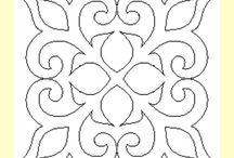 Mesas redondas con mosaico