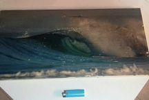 transfer photo on wood by me / trabalhos feitos por mim