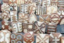Year 9 - African Art - Pattern Making / by Meridian Art Department