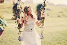 inspiration boho chic wedding