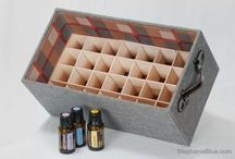 essential oils and diffusers.