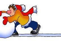 Thema winter kleuters / Winter theme preschool / Thema winter kleuters lessen en knutsels / Winter theme preschool lessosn and crafts / by Juf Petra