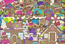 Gingerbread Fun / by Touched By A Butterfly