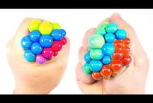 Stress ball colored