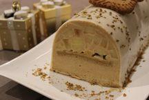 Noël  Buches Gâteau Biscuit