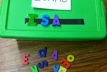 Preschool Name Practice
