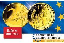 Suscripción mensual / Colecciona mes a mes  las mejores monedas, sellos y billetes que han existido en la historia