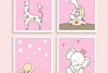 Nursery Posters Set