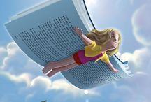 Dibujos / Lectura y libros