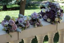 Wedding Flowers - Purple
