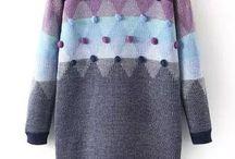 серый и фиолетовый