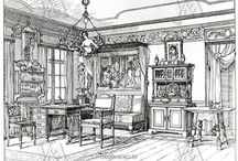 Art Nouveau... Decorative Arts / decor and graphism in the 1800´s and 1900´s