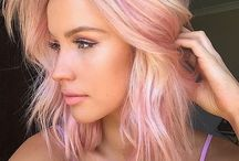 pink hair ❣