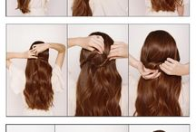 Hairstyle tutorials;