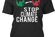 climate change tshirts
