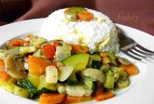 zöldség köret