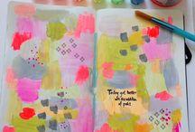 Patterns in artjournals
