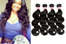 Brazilian Virgin Hair / Brazilian Human Virgin Hair 1 bundle 2/3/4/5/10 bundles. More Bundles More Cheaper, Bundles with Closure And Bundles With  Lace Frontal.